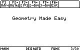 Geometry Made Easy